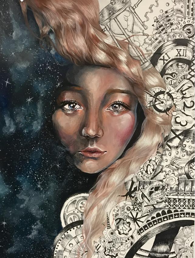Tác phẩm My Pursuit' của học sinh trường CATS Academy Boston giành giải quán quân trong Cuộc thi Nghệ thuật Quốc hội thường niên.